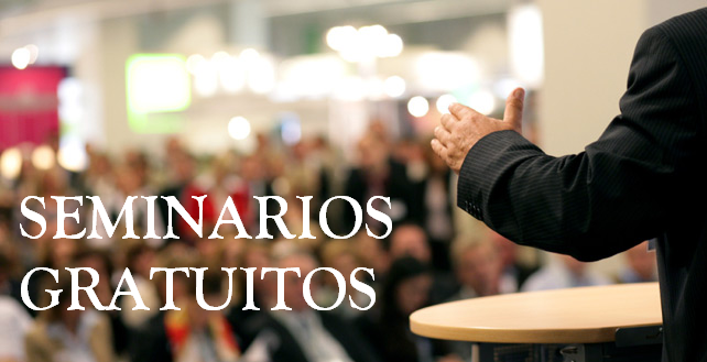 SEMINARIOS GRATUITOS