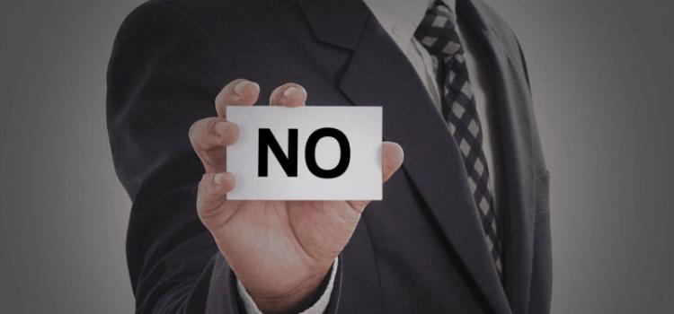 4 pasos para decir que no (y que no suene como no)